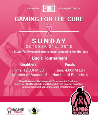Gaming For The Cure - Kinetic Gaming